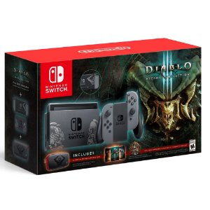 Console Nintendo Switch 32GB Bundle Diablo 3 Eternal Collection