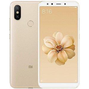 """Smartphone Xiaomi Mi A2 4GB/64GB LTE Dual Sim 5,99"""" Câm.20MP/12MP+20MP-Dourado"""