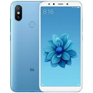 """Smartphone Xiaomi Mi A2 4GB/64GB LTE Dual Sim 5,99"""" Câm.20MP/12MP+20MP-Azul"""