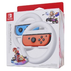 Kit 2 Volantes para Nintendo Joy-Con Branco - Switch