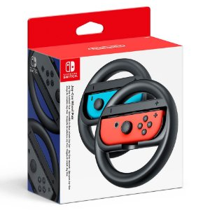 Kit 2 Volantes para Nintendo Joy-Con Preto - Switch