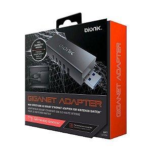 Adaptador Ethernet Bionik USB 3.0 Giganet - Switch