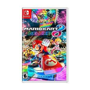 Jogo Mario Kart 8 Deluxe - Switch