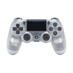 Controle Sony Dualshock 4 Crystal sem fio (Com led frontal) - PS4