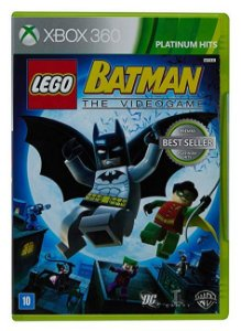 Jogo Lego Batman The Video Game - Platinum Hits - Xbox 360