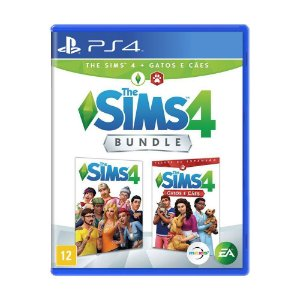 Jogo The Sims 4: Gatos e Cães (Bundle) - PS4