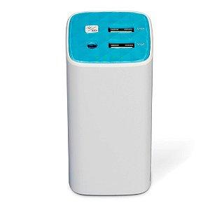 Carregador Portátil TP Link, 2 Portas USB 10400mAh, Branco