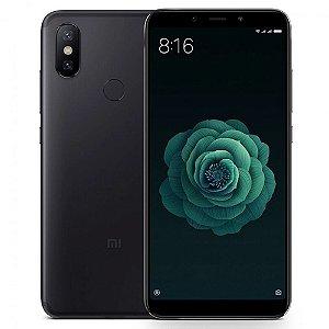 """Smartphone Xiaomi Mi A2 32GB LTE Dual Sim 5,99"""" Câm.20MP/12MP+20MP - Preto"""