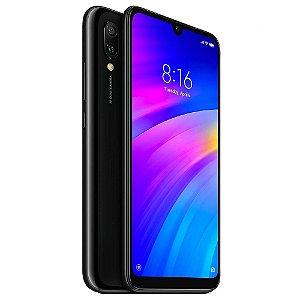 """Smartphone Xiaomi Redmi 7 3GB/ 64GB Dual Sim 6.26"""" Câm.8MP/12MP - Preto Eclipse"""