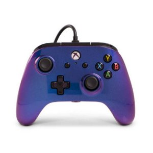 Controle Xbox One e Windows 10 Azul Nebula - PowerA