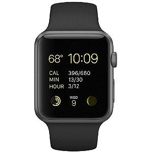 Relógio Apple Watch S3 42mm  Alumínio Cinza Espacial com Pulseira Esportiva Cinza