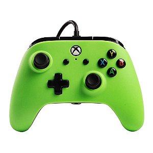 Controle Xbox One e Windows 10 Verde - PowerA