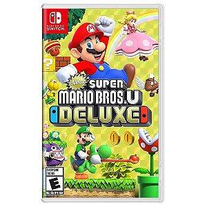 Jogo New Super Mario Bros. U Deluxe - Switch