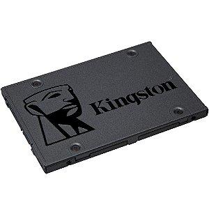 SSD Kingston 2.5´ 960GB A400 SATA III Leitura 500MB/s, Gravação 450MB/s - SA400S37/960G