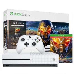 Console Xbox one S 1TB Bundle com Game Anthem