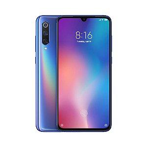"Smartphone Xiaomi Mi 9 128GB/6GB 48MP+12.0 Tela 6,39"" Cor Ocean Blue/Azul"
