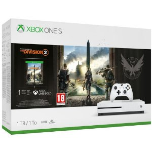 Console Xbox one S 1TB Bundle com Tom Clancy's The Division 2