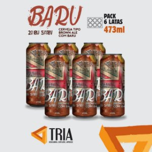 Baru (Pack de 06 Latas 473 ML)
