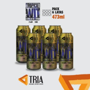 Tropical WIT (pack de 6 latas de 473ml)