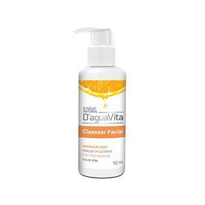 Gel CLEANSER Facial Vitamina C 150ml Daguavita Limpeza Suave D'agua Natural