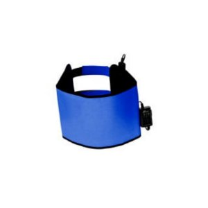 Manta Abdominal Standard - 27 x 97cm - Azul 220V - Estek
