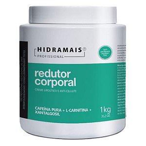 Creme de Massagem Redutor Corporal Cafeína 1kg Hidramais