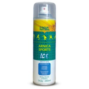 Spray Arnica Sports Ice 162g 280ml D'Agua Natural