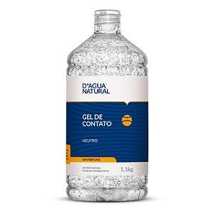 Gel De Contato Neutro 1,1kg D'Agua Natural