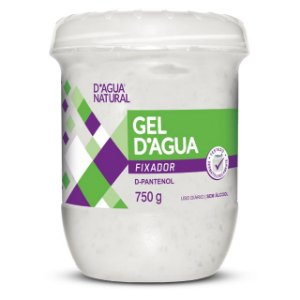 Gel Fixador 750g D'Agua Natural