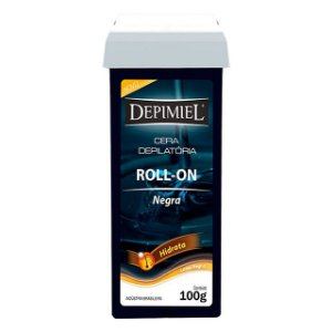 Cera Roll-on Negra 100g Depimiel