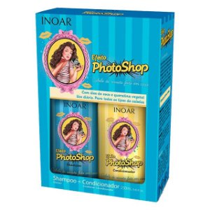 Kit Duo Shampoo 250ml + Condicionador 250ml Photoshop Inoar
