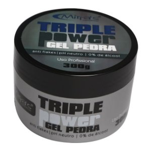 Gel Pedra Triple Power 300g Mirra's