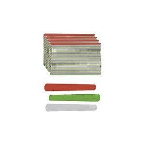 Lixa Extra Colorida Mini 8cm Com 144 Unidades Santa Clara