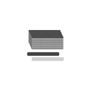 Lixa Popular Preta Mini 8cm Com 100 Unidades Santa Clara