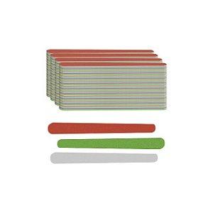 Lixa Extra Colorida Média 10,5cm Com 144 Unidades Santa Clara