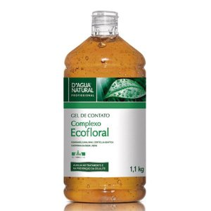Gel de Contato Ecofloral 1,1kg D'Agua Natural