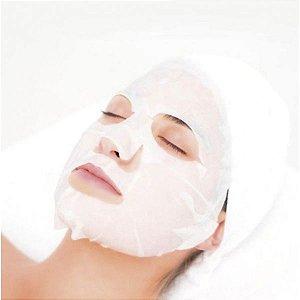 Máscara Descatável TNT P/ Limpeza Facial C/ 20 Unidades Santa Clara