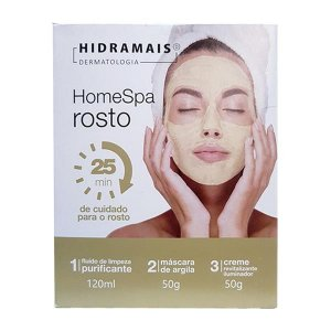 Kit de Cuidado Facial Home Spa Hidramais