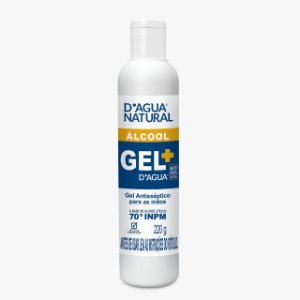 Gel Antisséptico para as Mãos 220g D'Agua Natural