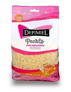 Cera Natural em Pérolas 1 kg Depimiel