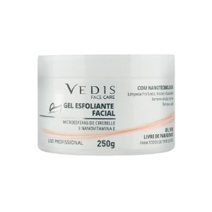 Gel Esfoliante Facial 250g Vedis