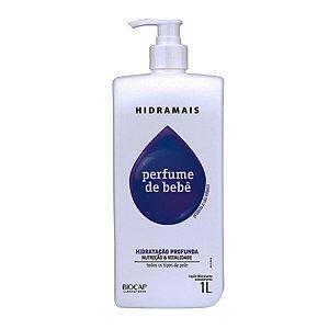 Loção Desodorante Perfume de Bebê 1L Hidramais