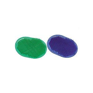 Escova Plástica Oval Para Massagem Capilar Santa Clara