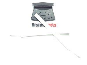 Borrachas das hastes brancas para oculos oakley crosslink 50eee20390