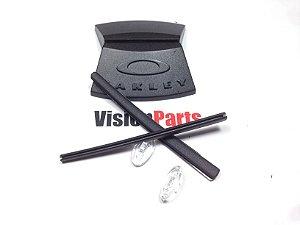 Kit de borrachas para óculos Oakley carbon plate ou metal plate Hastes + plaquetas  nasais 23fb2f53d6