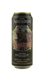 Cerveja Premium Clara Ale Iron Maiden Trooper Lata
