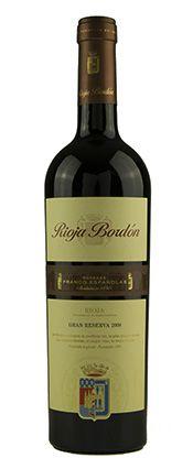 Vinho Tinto Rioja Bordón Gran Reserva 2008