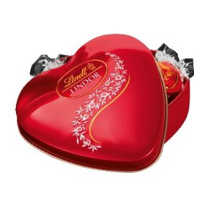 Lindt Lindor Milk Crystal Heart  48g