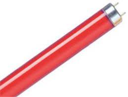 Lâmpada Led Tubular de 18w  1.20m  Vermelho