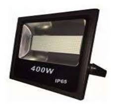 Kit  Refletor Holofote Microled 400w 6000k Branco Frio